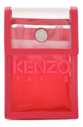 Мужского чехол для iphone KENZO фуксия цвета, арт. FA52PM408F02 | Фото 1