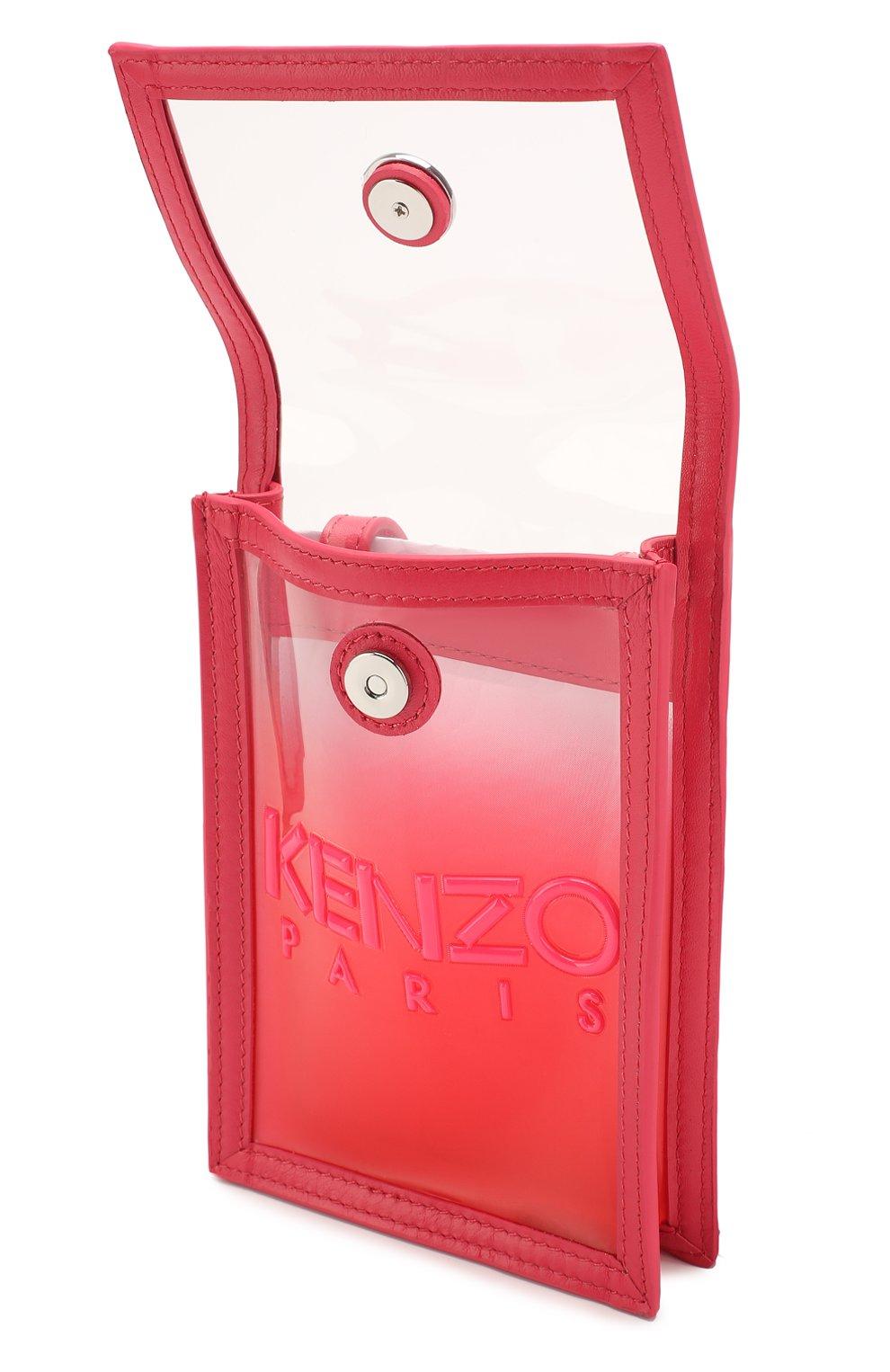 Мужского чехол для iphone KENZO фуксия цвета, арт. FA52PM408F02   Фото 3