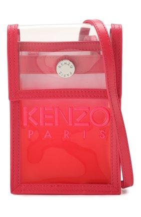 Мужского чехол для iphone KENZO фуксия цвета, арт. FA52PM408F02   Фото 4