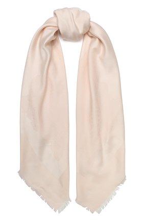 Женская шаль capri из смеси шелка и хлопка BALMUIR розового цвета, арт. 3107000 | Фото 1