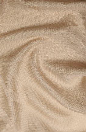 Женская шерстяная шаль chantal BALMUIR бежевого цвета, арт. 176100 | Фото 2