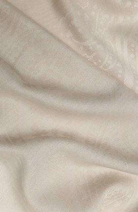 Женская шаль capri из смеси шелка и хлопка BALMUIR бежевого цвета, арт. 3107000 | Фото 2