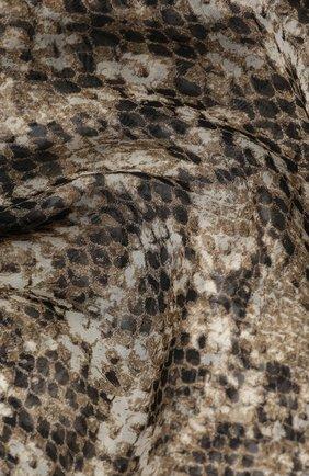 Мужские шелковый шарф fiona BALMUIR бежевого цвета, арт. 178351 | Фото 2