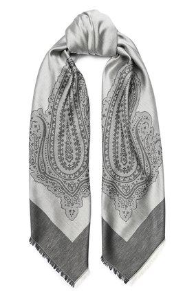Женская шаль capri из смеси шелка и хлопка BALMUIR черного цвета, арт. 3107000 | Фото 1