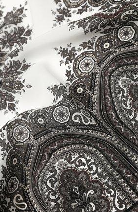 Женский шелковый платок verona BALMUIR бежевого цвета, арт. 178300 | Фото 2