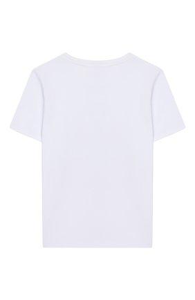 Детская хлопковая футболка EIRENE разноцветного цвета, арт. 202020. | Фото 2