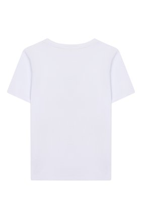Детская хлопковая футболка EIRENE разноцветного цвета, арт. 2020104. | Фото 2