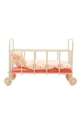 Детского игрушка детская кровать MAILEG разноцветного цвета, арт. 11-8112-00 | Фото 1