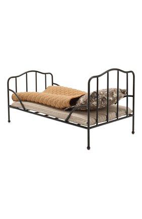 Детского игрушка винтажная кровать мини MAILEG черного цвета, арт. 11-9100-01 | Фото 2