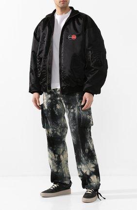 Мужские замшевые кеды FEAR OF GOD черного цвета, арт. 6H19-7024/NCA | Фото 2
