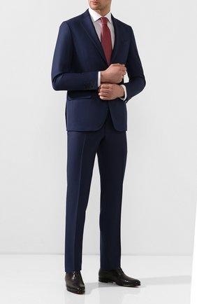 Мужские кожаные оксфорды BERLUTI темно-серого цвета, арт. S5004-001 | Фото 2
