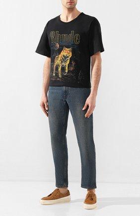 Мужские замшевые кеды PRIMABASE светло-коричневого цвета, арт. 39426 017 + ALZ0 | Фото 2