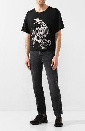 Мужские кожаные кроссовки HARRYS OF LONDON черного цвета, арт. 43110322299/S0FT NAPPA | Фото 2