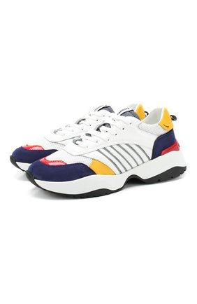 Комбинированные кроссовки D24 | Фото №1
