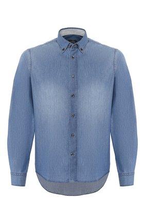 Мужская джинсовая рубашка VAN LAACK синего цвета, арт. T0YK2-SF05WK/155140 | Фото 1