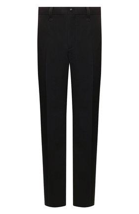 Мужской шерстяные брюки BURBERRY черного цвета, арт. 4563511 | Фото 1