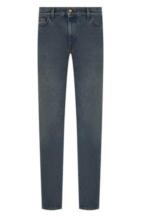 Мужские джинсы BURBERRY синего цвета, арт. 8019827 | Фото 1