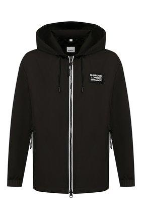 Мужская куртка BURBERRY черного цвета, арт. 8027098 | Фото 1