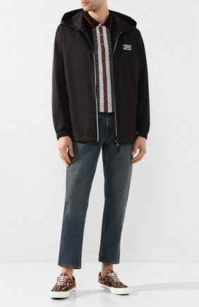 Мужская куртка BURBERRY черного цвета, арт. 8027098 | Фото 2