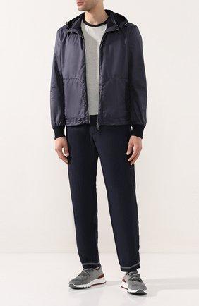 Мужская куртка FIORONI синего цвета, арт. MTX20003E1 | Фото 2