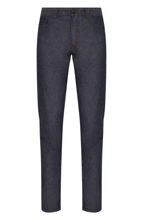 Мужские джинсы CANALI темно-синего цвета, арт. 91711H/PD00401 | Фото 1