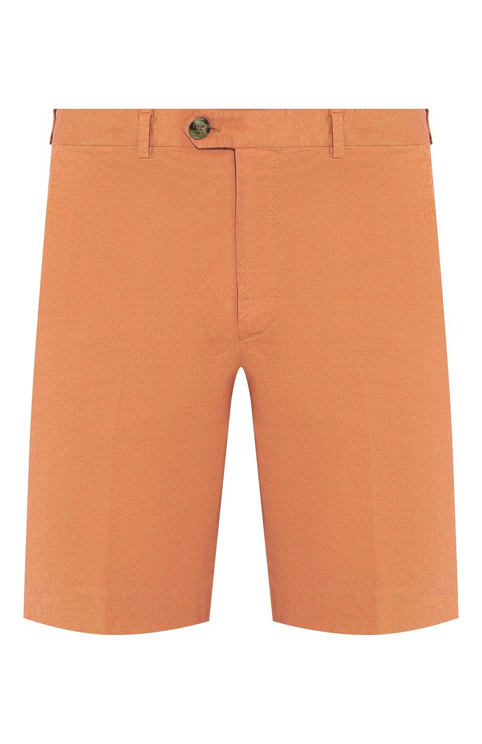 Мужские хлопковые шорты RALPH LAUREN оранжевого цвета, арт. 790800040 | Фото 1