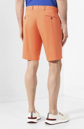Мужские хлопковые шорты RALPH LAUREN оранжевого цвета, арт. 790800040 | Фото 4