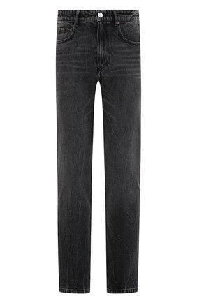 Мужские джинсы BALENCIAGA темно-серого цвета, арт. 620737/TBP47 | Фото 1