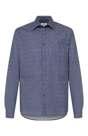 Мужская хлопковая сорочка ETON темно-синего цвета, арт. 1000 01109 | Фото 1