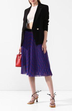 Женская юбка-миди ESCADA SPORT синего цвета, арт. 5033021 | Фото 2