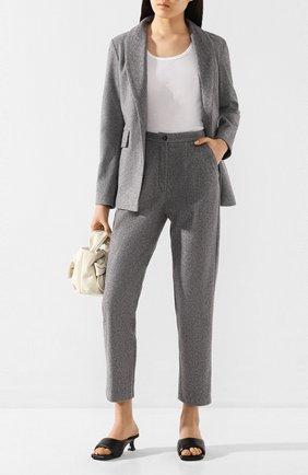 Женские брюки PEFORGIRLS серого цвета, арт. PE.100.2022.01.30005.604 | Фото 2