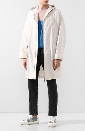 Мужской шерстяной джемпер PRADA разноцветного цвета, арт. UMA123-1WN4-F0Z37-141   Фото 2