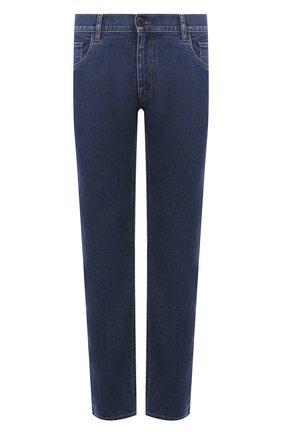 Мужские джинсы PRADA синего цвета, арт. GEP178-1VUR-F0008-192 | Фото 1