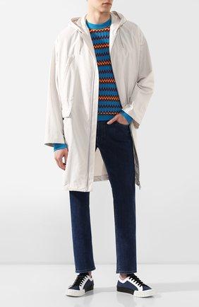 Мужские джинсы PRADA синего цвета, арт. GEP178-1VUR-F0008-192 | Фото 2