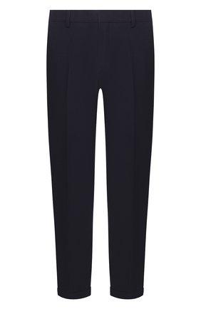 Мужские хлопковые брюки PRADA синего цвета, арт. SPD91-1VTN-F0124-172 | Фото 1