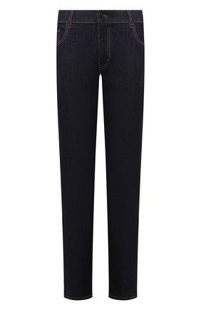 Мужские джинсы PRADA синего цвета, арт. GEP178-1DWC-F0008-192 | Фото 1