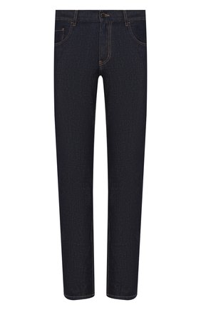 Мужские джинсы PRADA синего цвета, арт. GEP178-1P8Q-F0008-192 | Фото 1
