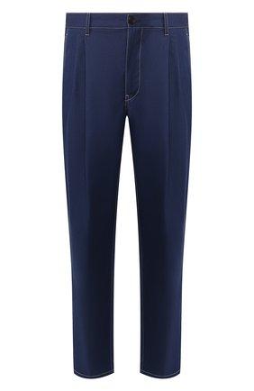 Мужские джинсы PRADA синего цвета, арт. GEP309-1VMN-F0E93-201 | Фото 1