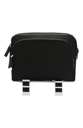 Мужская текстильная сумка PRADA черного цвета, арт. 2VH043-973-F0002-OOO | Фото 1
