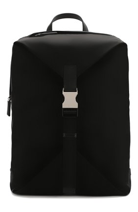 Мужской текстильный рюкзак PRADA черного цвета, арт. 2VZ028-973-F0002-OOO | Фото 1