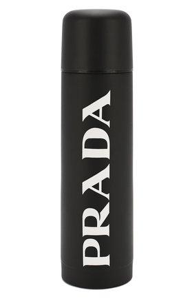 Мужской термос PRADA черно-белого цвета, арт. 2UH001-2CGI-F0967 | Фото 1