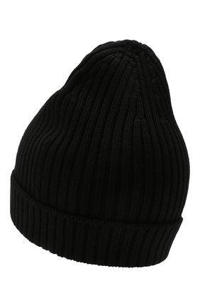 Мужская шерстяная шапка PRADA черного цвета, арт. UMD429-U97-F0002 | Фото 2