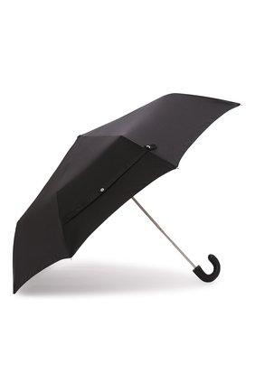 Мужской складной зонт PRADA черного цвета, арт. 2OO113-142-F0002 | Фото 2