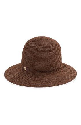 Женская шляпа kate  LORO PIANA коричневого цвета, арт. FAI6117 | Фото 1