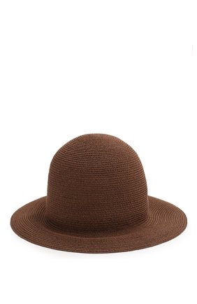 Женская шляпа kate  LORO PIANA коричневого цвета, арт. FAI6117 | Фото 2