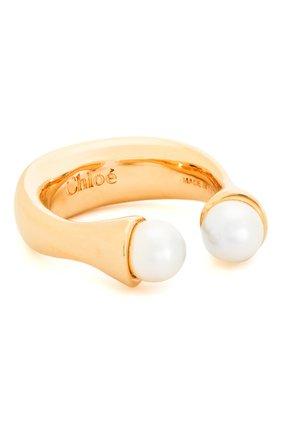 Женское кольцо darcey CHLOÉ золотого цвета, арт. CHC15AF609CH5 | Фото 1 (Материал: Металл)