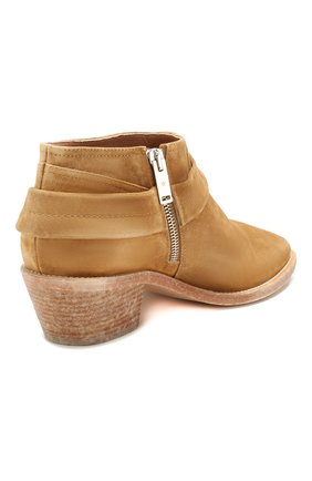 Женские замшевые ботинки bretagne GOLDEN GOOSE DELUXE BRAND коричневого цвета, арт. G36WS739.A2   Фото 4