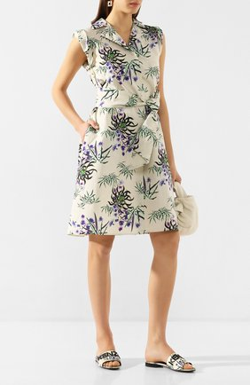 Текстильные шлепанцы Sea Lily   Фото №2