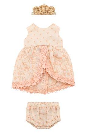 Детского игрушечное платье принцессы микро MAILEG розового цвета, арт. 16-7024-00 | Фото 1