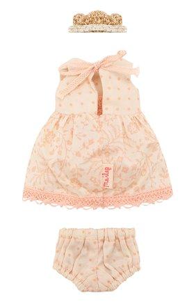 Детского игрушечное платье принцессы микро MAILEG розового цвета, арт. 16-7024-00 | Фото 2